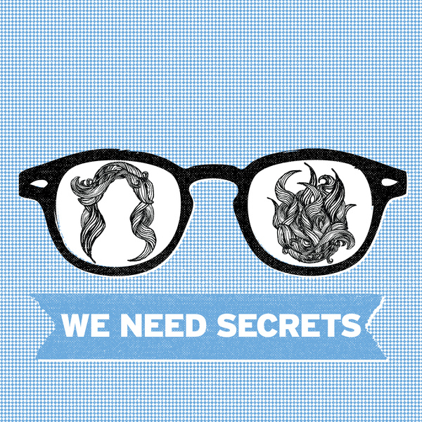 "NR-024 - WE NEED SECRETS - ""PURPLE"" B/W ""SLOW SUMMER"" 7"""
