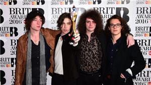 Catfish & The Bottlemen win Best British Breakthrough at the BRITS